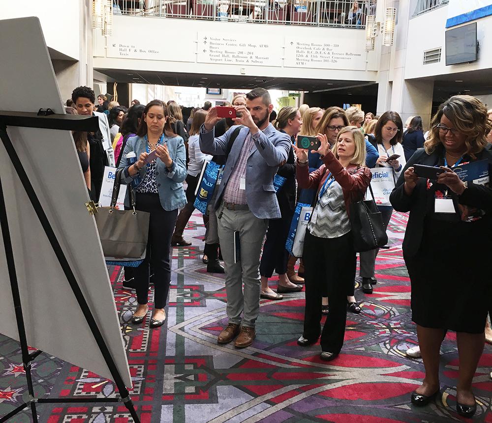 Graphic recording, Terry LaBan, Philadelphia area graphic recording, Philadelphia Conference for Women