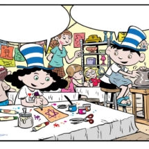 Illustrations, editorial illustrations, political illustrations, business cartoons, New Yorker cartoons, Terry LaBan, Breakthrough Visuals, cartoon illustrations