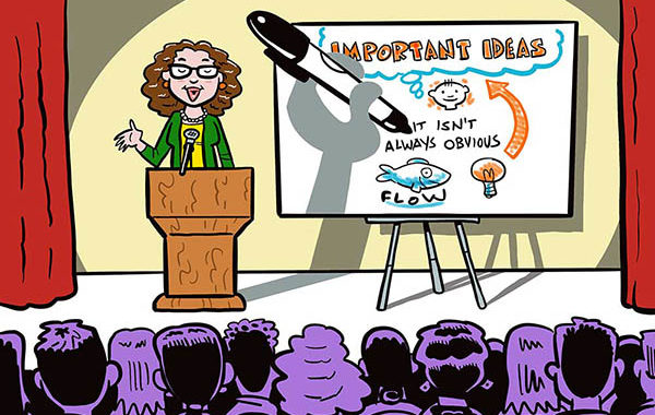 Graphic recording, Terry LaBan, Philadelphia area graphic recorder, Breakthrough Visuals, sketch notes, illustration